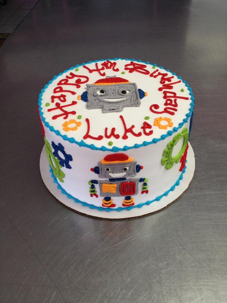 Best  Robot Cake Ideas On Pinterest Birthday Cakes For Boys - 5th birthday cake boy