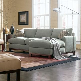 Rowe Furniture Sullivan Mini Mod Apartment Sectional Sofa : apartment size sectional with chaise - Sectionals, Sofas & Couches