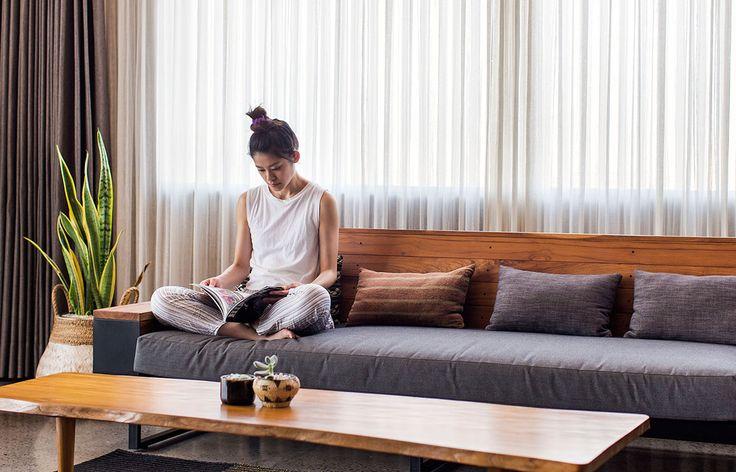 The Slow Bali GFAB Architects sofa