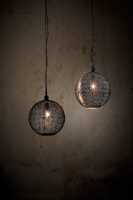 Superb Crafted From Etched Metal To Create An Intriguing Perforated Design That  Castes Beautiful Shadows On Wall · Pendant LightsShadowsTo ...