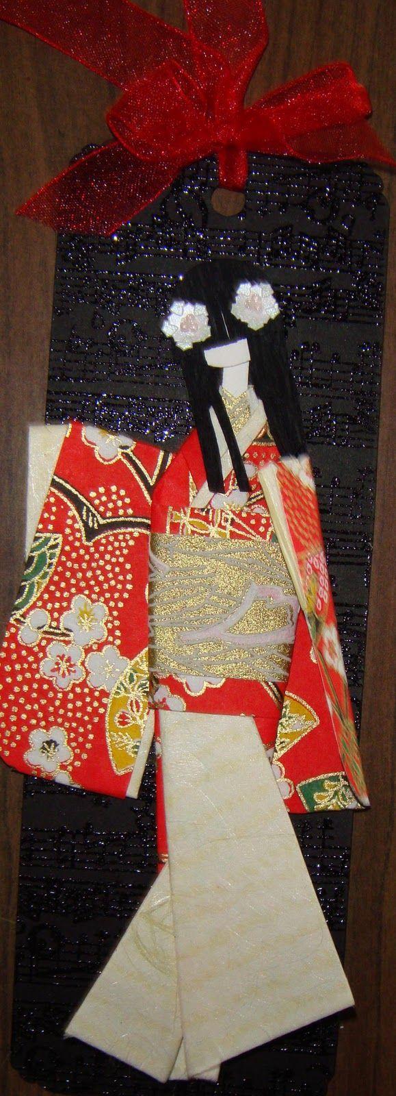 Washi Ningyo: Muñecas Japonesas de Papel - Taringa!