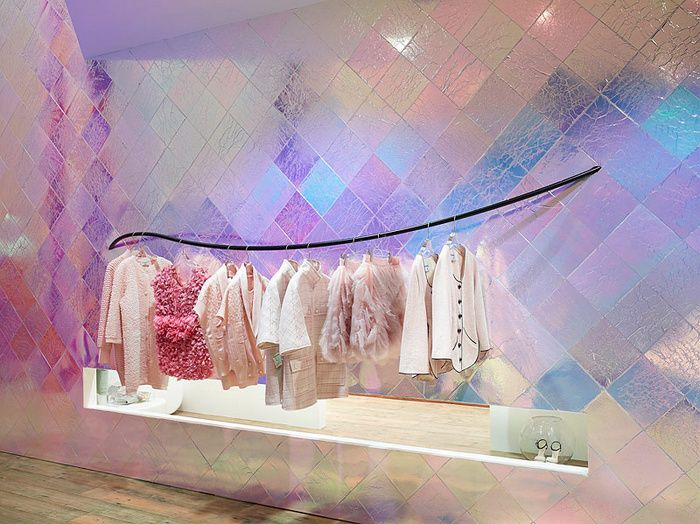 CHANEL pop-up shop
