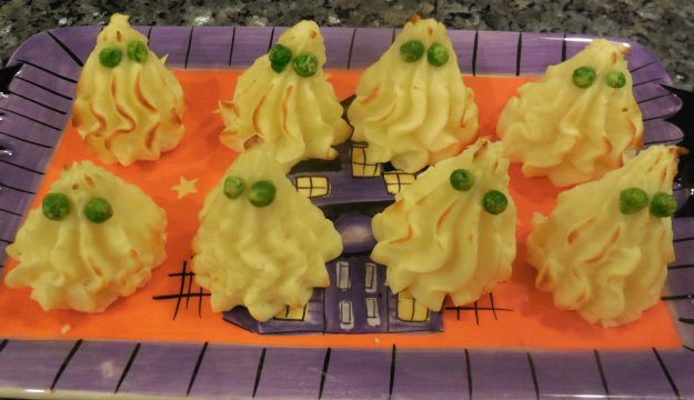 I fantasmi di patate per Halloween