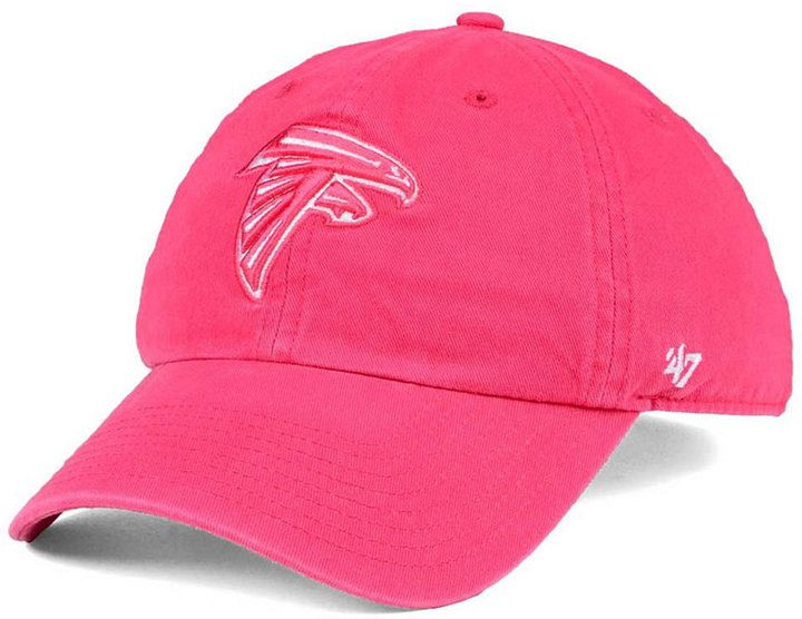 '47 Women's Atlanta Falcons Pastel Clean Up Cap