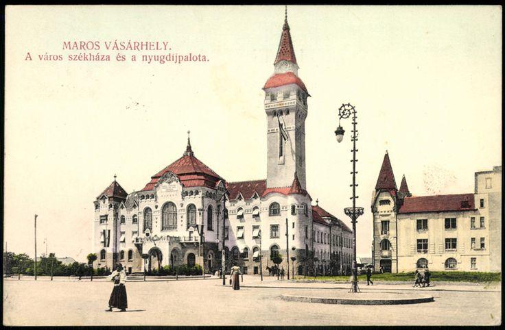 """<a+class='trdeflink'+href=""""http://postcards.arcanum.hu/hu/68670/"""">Marosvásárhely+székháza+és+a+Nyugdíjpalota</a>,+amelynek+helyét+a+Kultúrpalota+vette+át"""