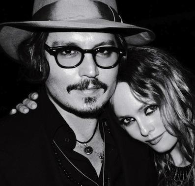 1998 - 2012. Johnny Depp and Vanessa Paradis
