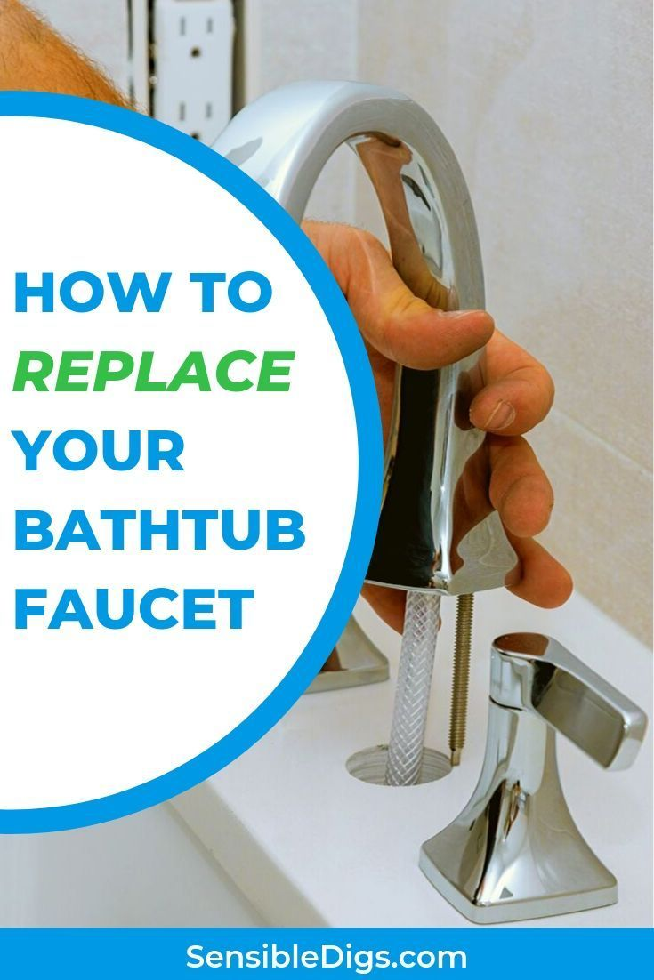 Is It Possible To Replace An Old Or Broken Bathtub Faucet Yourself Yes And It S Easier Than It Looks Our Guide Shows You How To R Faucet Bathtub Bathtub Makeover