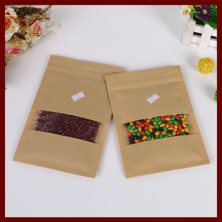 Find More Packaging Bags Information about 9*14 30pcs brown self zip lock kraft paper bags with window for gifts sweets and candy food tea jewelry retail package paper,High Quality paper bag lunch box,China paper bag for tea Suppliers, Cheap bag boss from Fashion MY life on Aliexpress.com