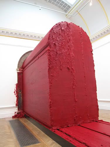 Anish Kapoor - I actually got a bit of this sculpture on my trousers when I visited the RA, briefly considered selling them on eBay.
