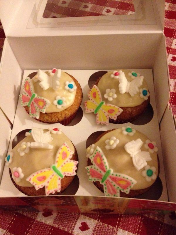 Cupcakes allo yogurt all albicocca