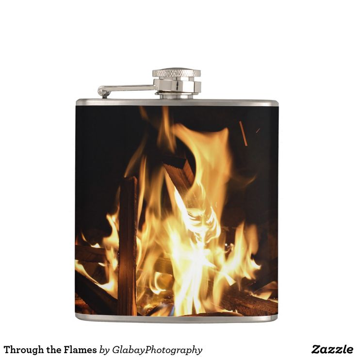 Through the Flames Flasks