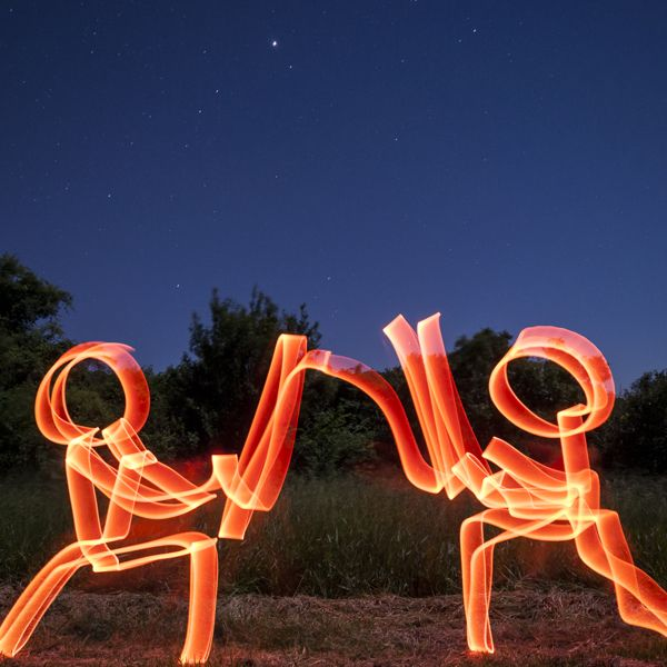 Lightpainting Night on Behance