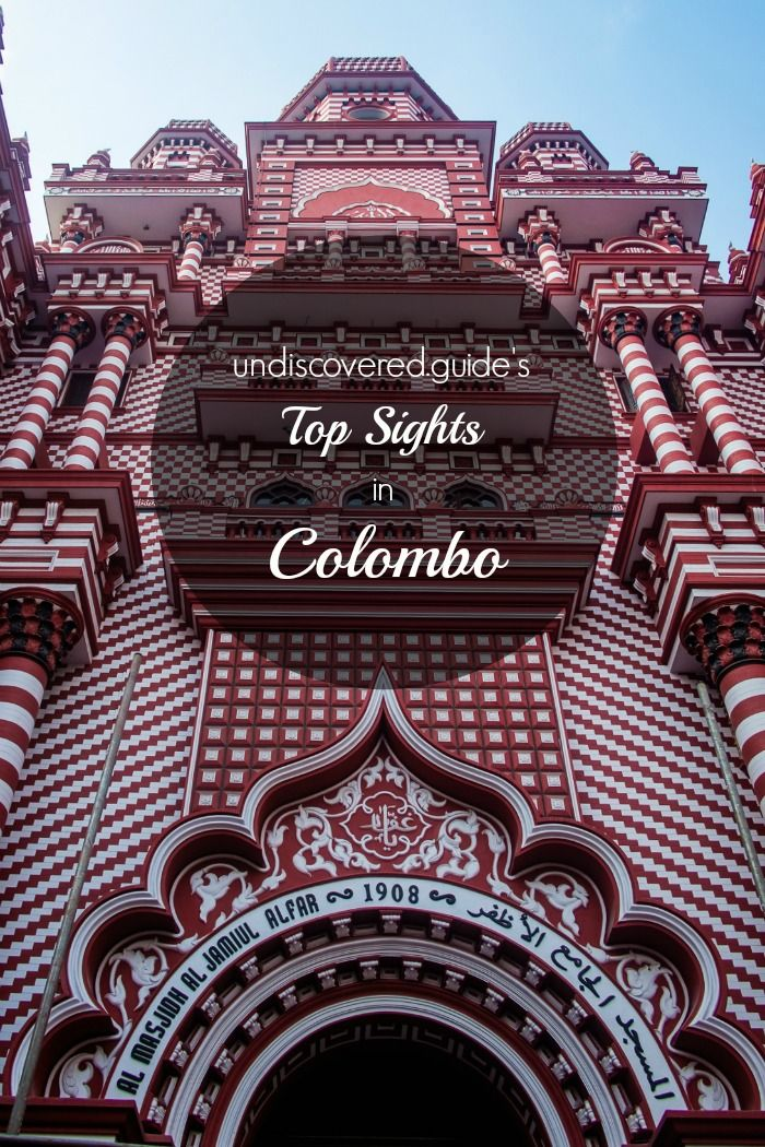 The top sights and activities in Colombo, Sri Lanka. www.undicovered.guide