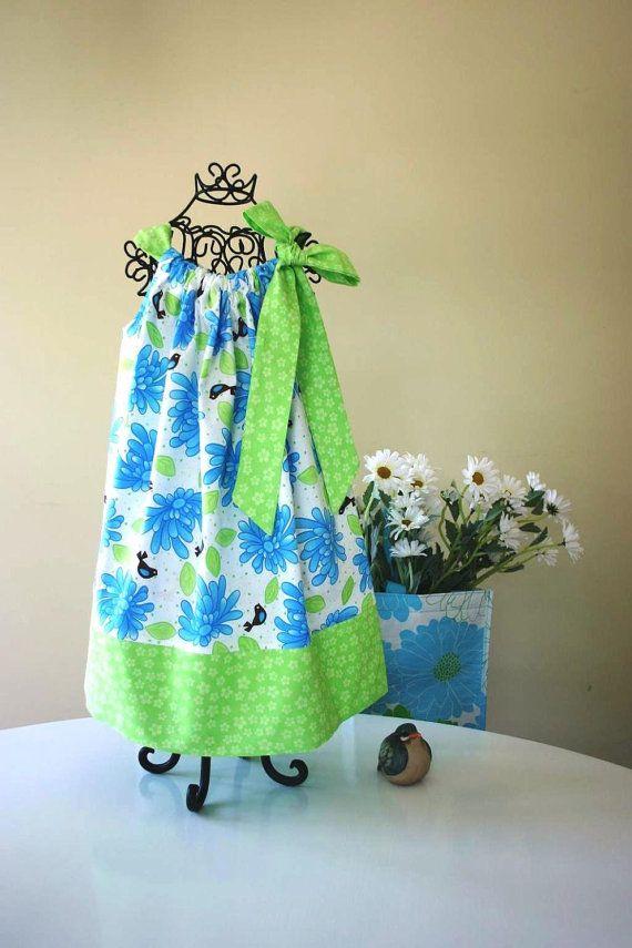 Sew Easy...Girl's Pillowcase Dress Pattern, Dress Pattern, PDF Sewing Pattern. Back to School Dress. Handmade Patterns, Sewing Supply