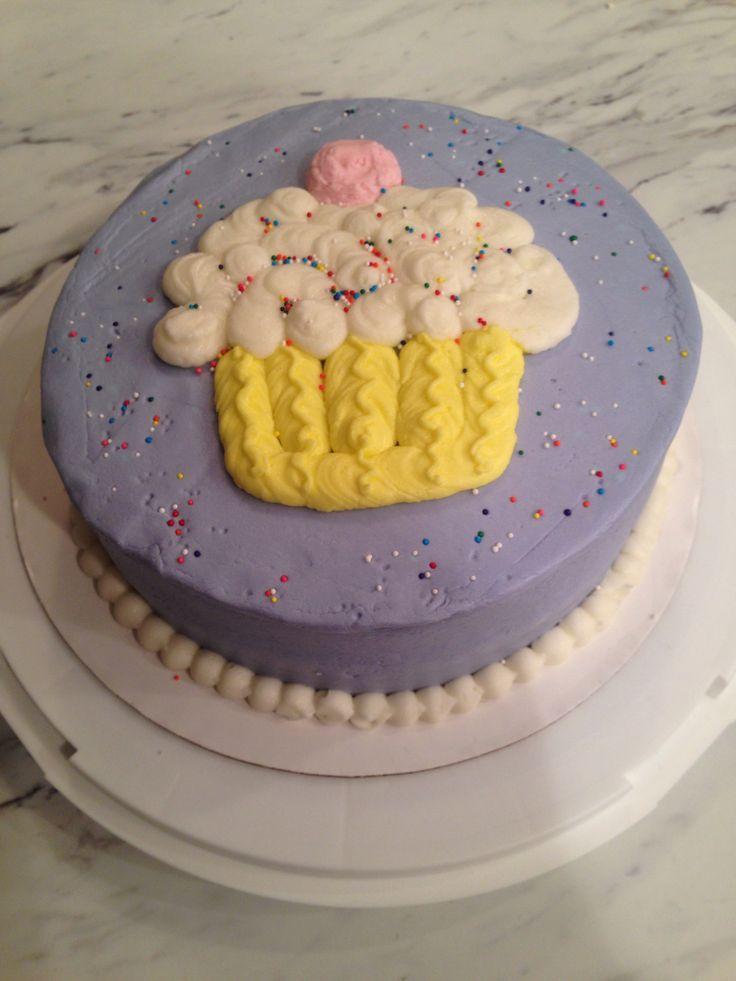 Wilton Basic Buttercream Cake | Favorite Cakes | Pinterest