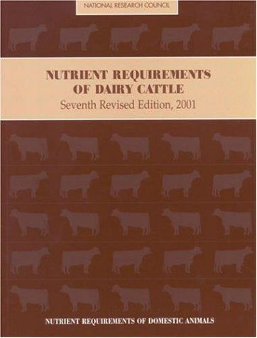 Veterinary Ebook: Nutrient Requirements of Dairy Cattle