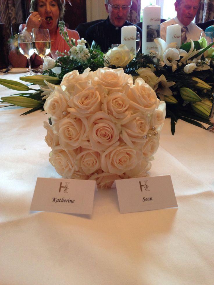 Bridal flowers #wedding #design #bouquet