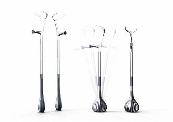 Crutches by Philippe Daguillon, via Behance