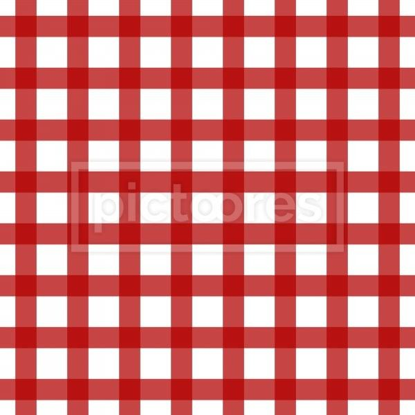 white and red plaid pattern
