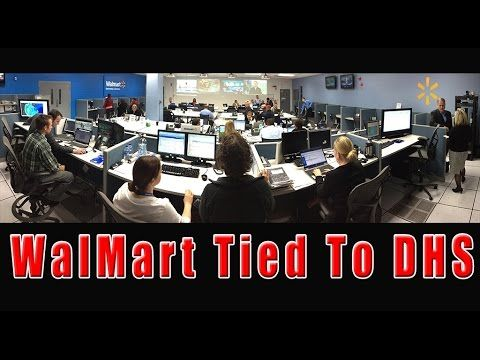 Walmart Directly Tied To DHS - Inside Info May Have Prompted Store Closures - YouTube