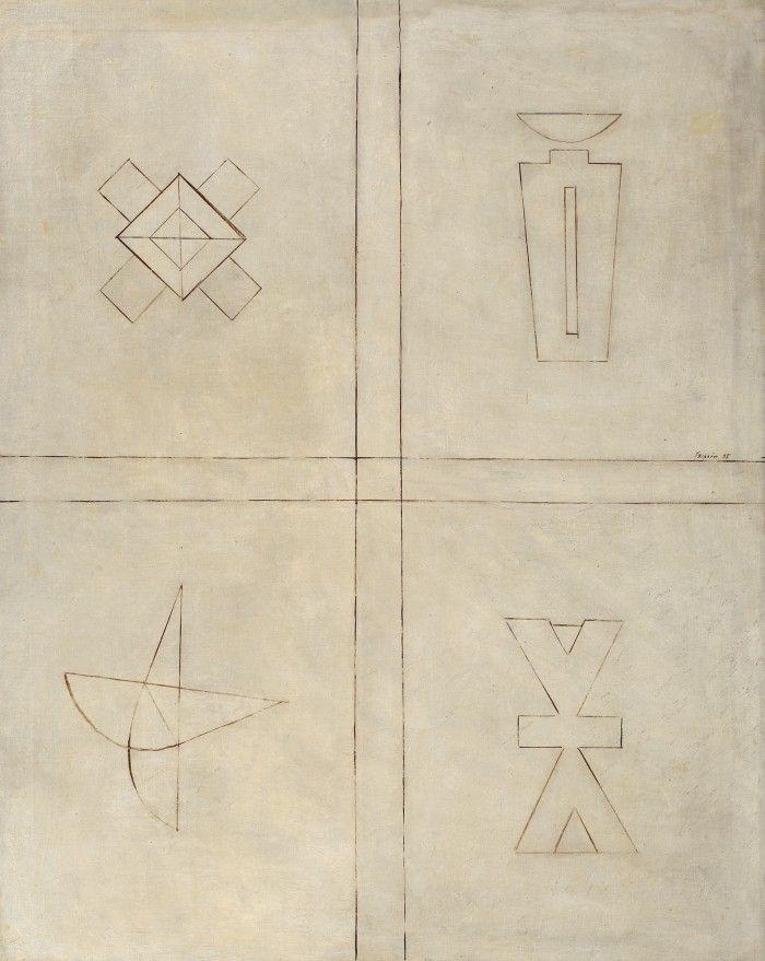 George Tzipoia, Quatre symboles de l'existance - Licitația de Artă Postbelică și Contemporană #239/2017 - Arhivă rezultate