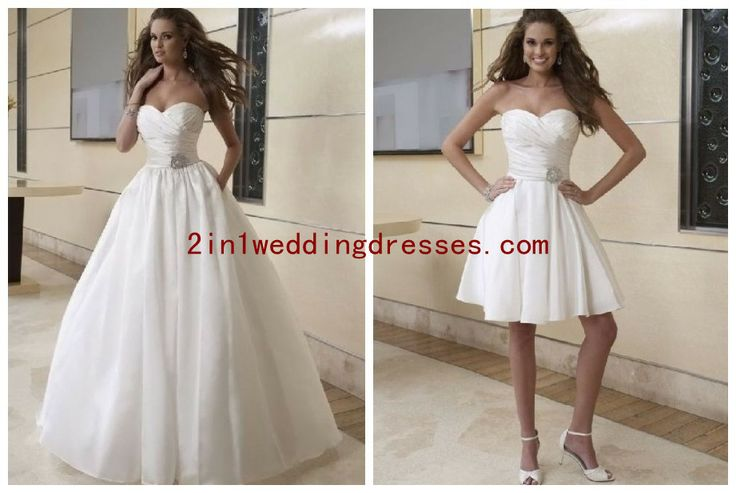 20 best Convertible Skirt Wedding Dresses images on Pinterest ...