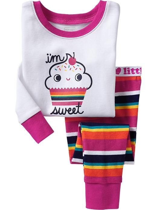 Rainbow Cupcake Jammies!