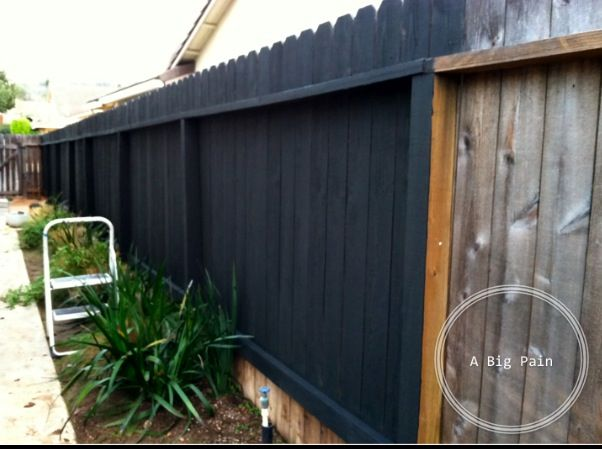 Why would anyone paint over the wood grain of a pretty for Pretty fencing ideas