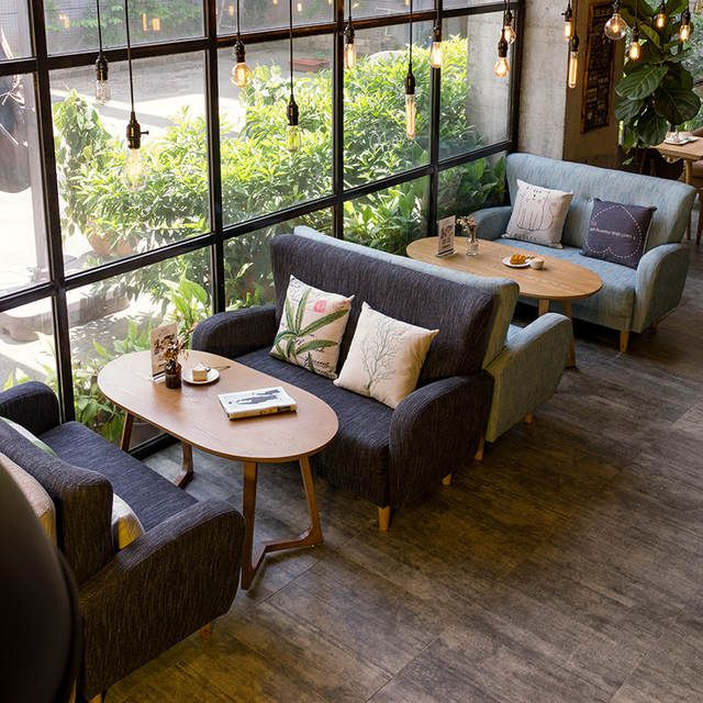 Online Shop Louis Fashion Cafe Furniture Sets Shop Sofa Nordic Casual Art Dessert Aliexpress Mob Cafe Interior Design Coffee Shop Decor Coffee Shop Furniture