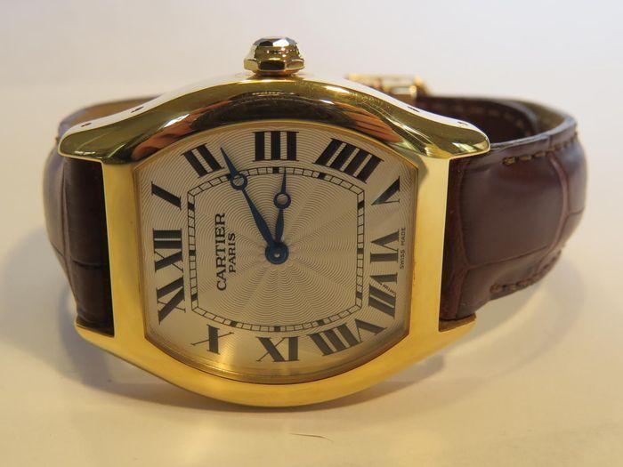 Catawiki online auction house: Cartier Tortue - men's wristwatch . Circa 2005