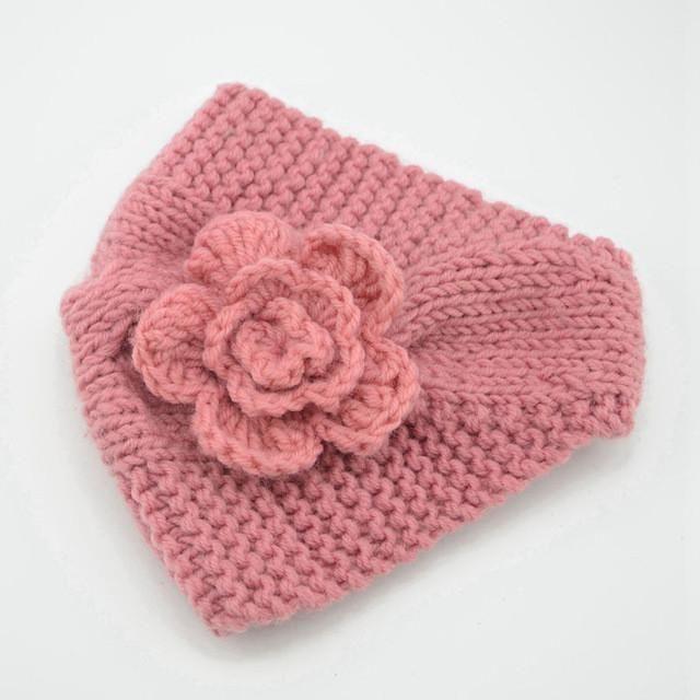Naturalwell Women Winter Fashion Flower Crochet Headband Girls