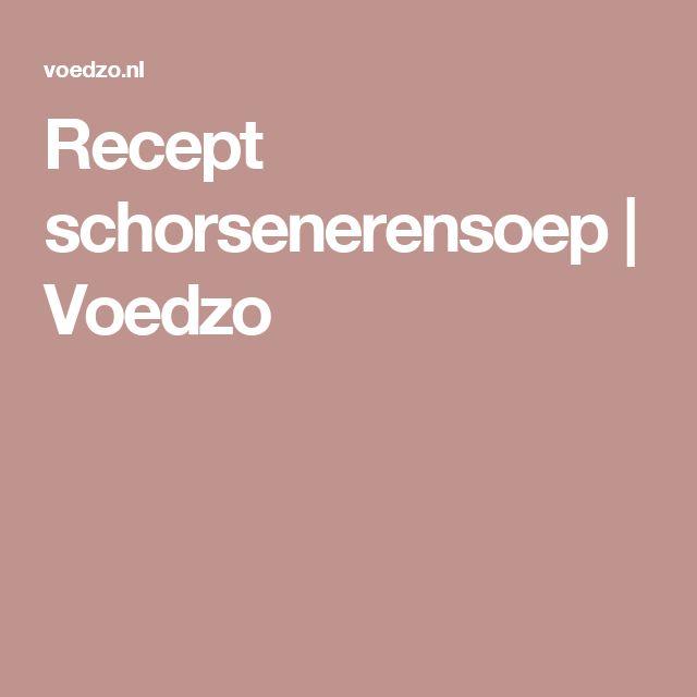 Recept schorsenerensoep | Voedzo