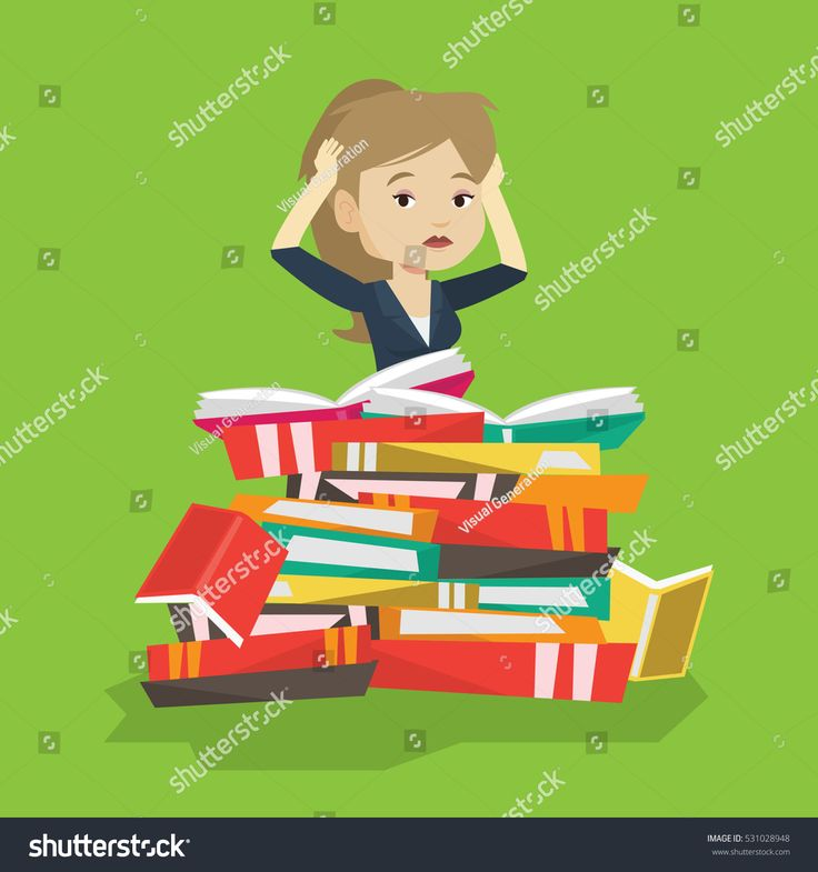 stock-vector-caucasian-student-sitting-in-huge-pile-of-books-exhausted-student-preparing-for-exam-with-books-531028948.jpg 1500×1600 пикс
