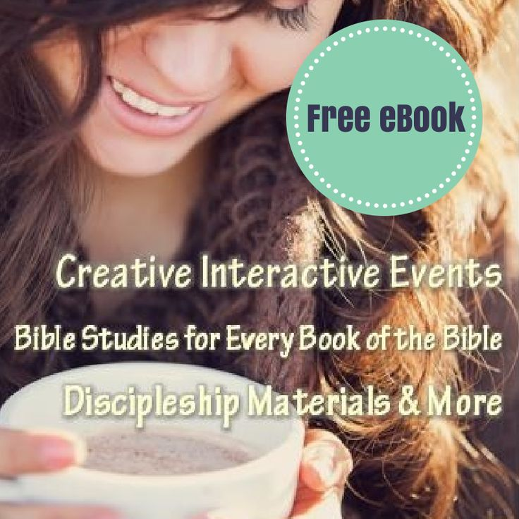 Creative, Interactive Women's Ministry Events, Bible Studies for every Book of the Bible, Discipleship Resources and more. Free eBook {@ MissionalWomen.com}