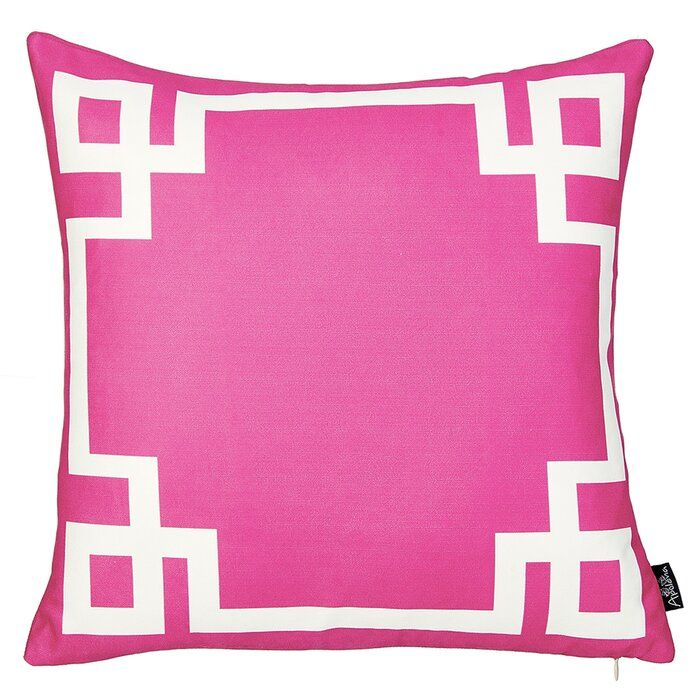 Albion Geometric Throw Pillow Cover