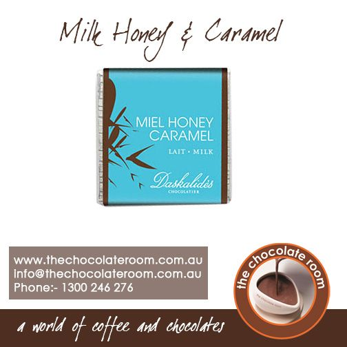 #Milk #Honey & #Caramel #Chocolate - The name says it all  For more details,follow us @chocolateroomau