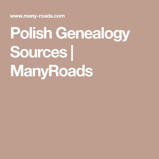 Polish Genealogy Sources | ManyRoads