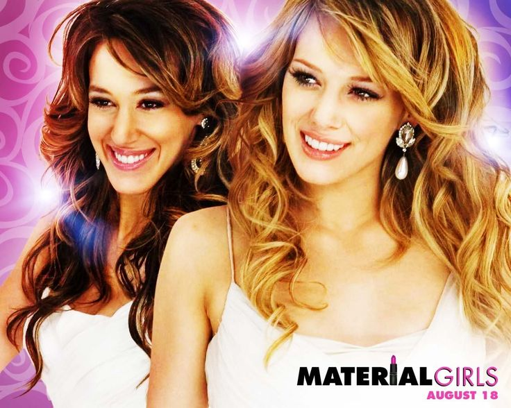 Watch Streaming HD Material Girls, starring Hilary Duff, Haylie Duff, Anjelica Huston, Maria Conchita Alonso. Two wealthy sisters, both heiresses to their family's cosmetics fortune, are given a wake-up call when a scandal and ensuing investigation strip them of their wealth. #Comedy #Family #Romance http://play.theatrr.com/play.php?movie=0433412