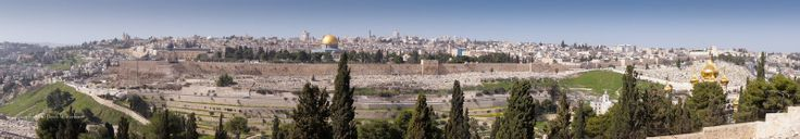 Mount of Olives: Then the cherubim lifted their wings and the wheels alongside them, with the glory of the God of Israel above them. The glory of the Lord rose up from the middle of the city and came to rest on the mountain east of the city. -Ezekiel 11:22-23(NABRE)