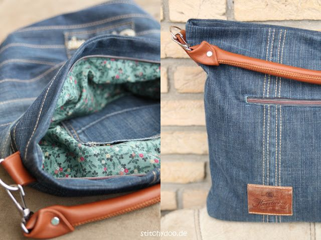 stitchydoo: Upcycling Bag Chobe |  Jeans Recycling par excellence