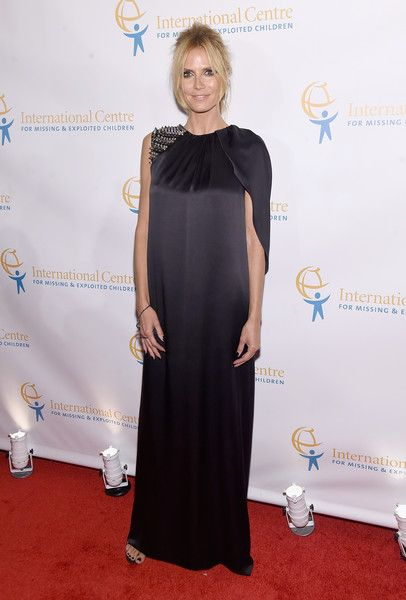 Heidi Klum Photos - International Centre For Missing And Exploited Children's Inaugural Gala - Zimbio