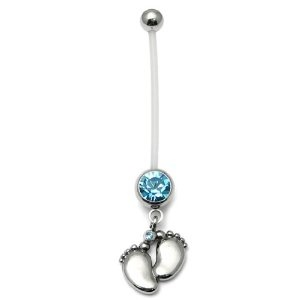 So cute. belly ring