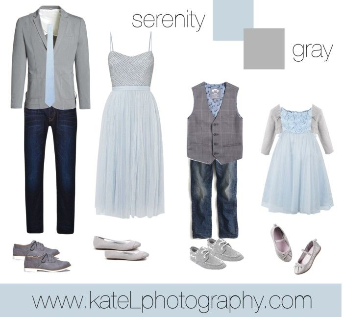 Serenity + Gray // Family Outfit // spring 2016