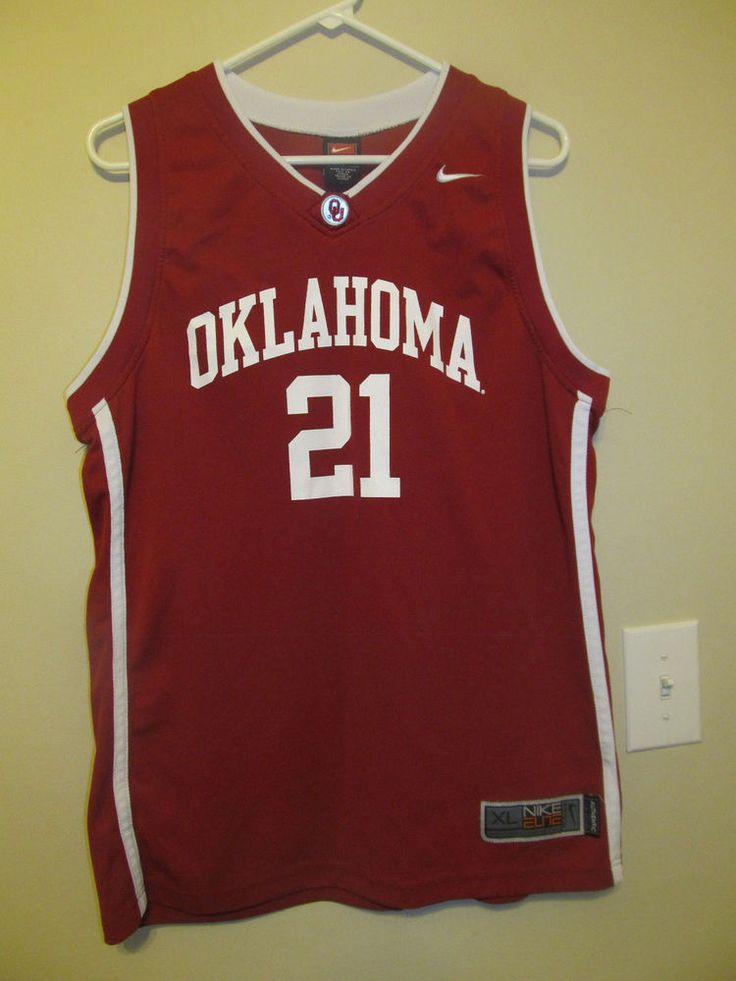 Oklahoma Sooners Basketball jersey - Nike Elite youth XL #NikeElite #OklahomaSooners