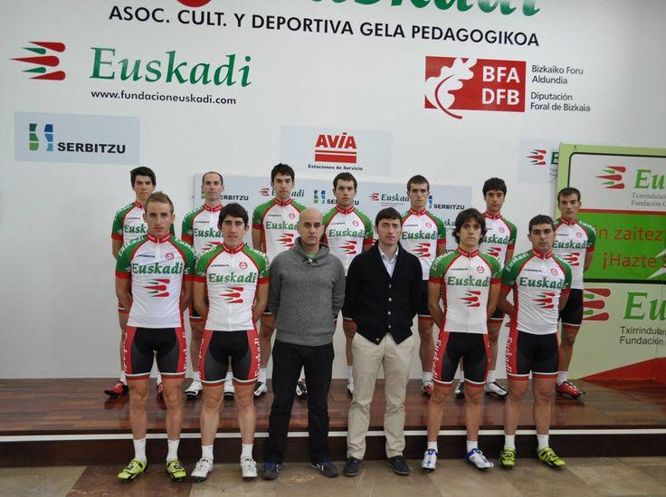 """Se presenta el equipo ciclista """"Euskadi"""" 2014. La aventura continúa ¿La apoyas?"""