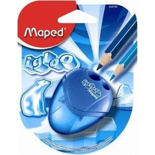 Maped Igloo tartályos ceruza hegyező két lyukas ceruzahegyező - Kék Ft Ár 329