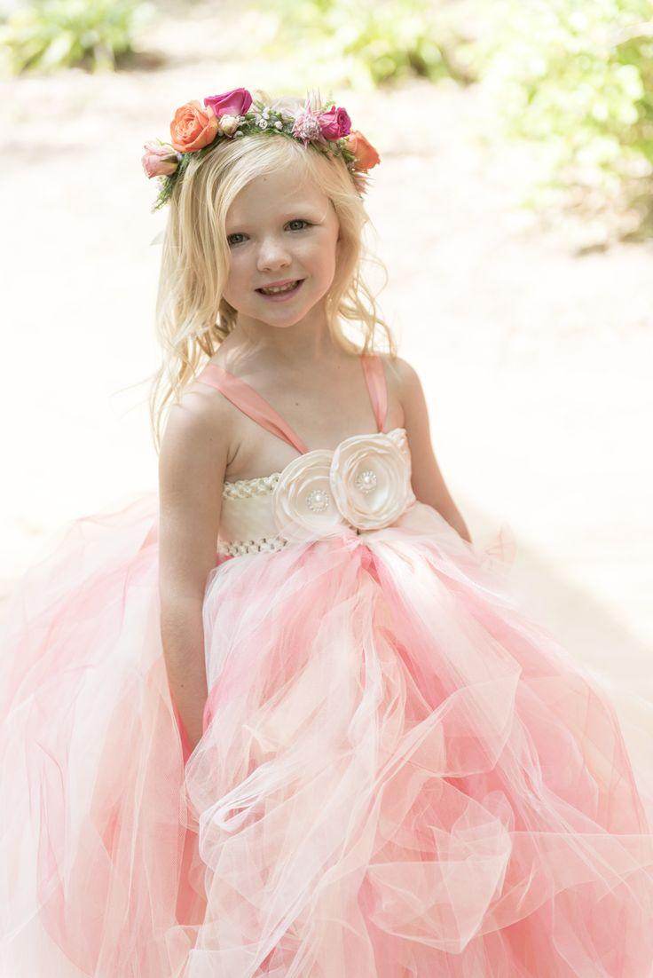 Mejores 36 imágenes de Pretty Flower Girls en Pinterest | Damitas de ...