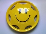 Radkappen - Smiley - Smilie - Airbrush Radkappe Smiley - Smilie - Airbrush Radkappe S2012