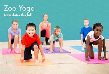 Zoo Yoga Houston, TX #Kids #Events