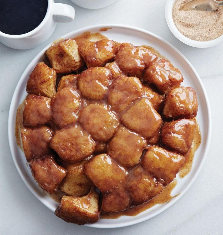 Monkey Bread gets a low sugar makeover from Baking with Less Sugar, the third cookbook from Boston baker Joanne Chang.